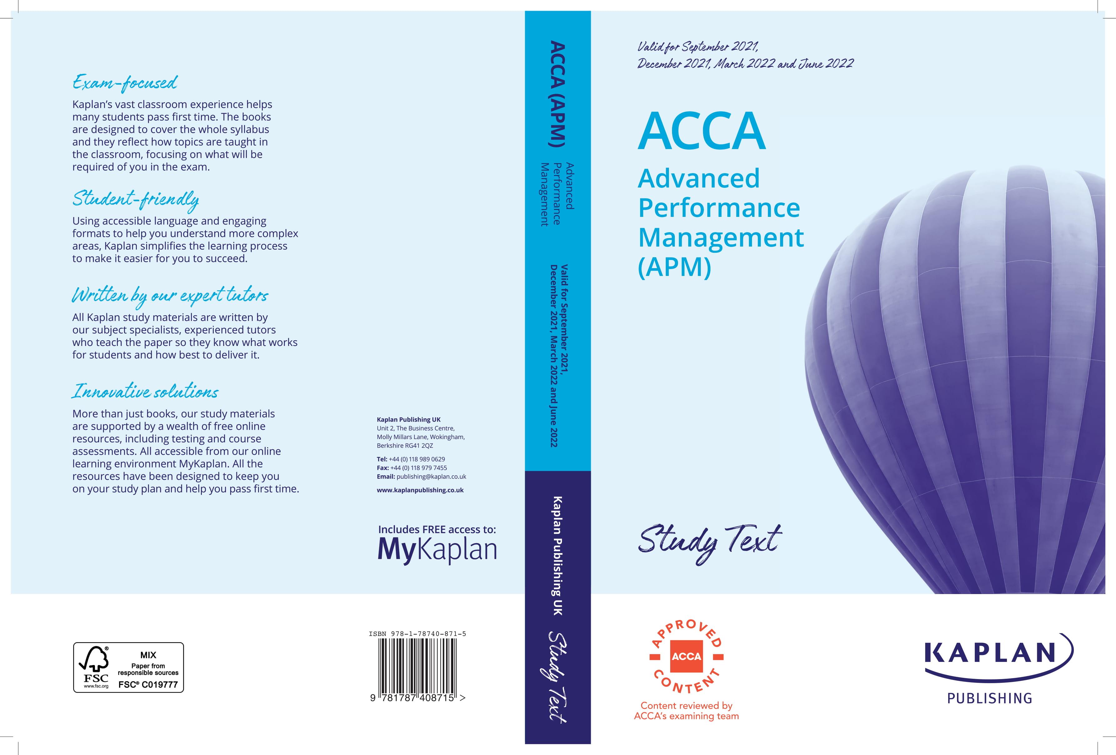 Advanced Performance Management
