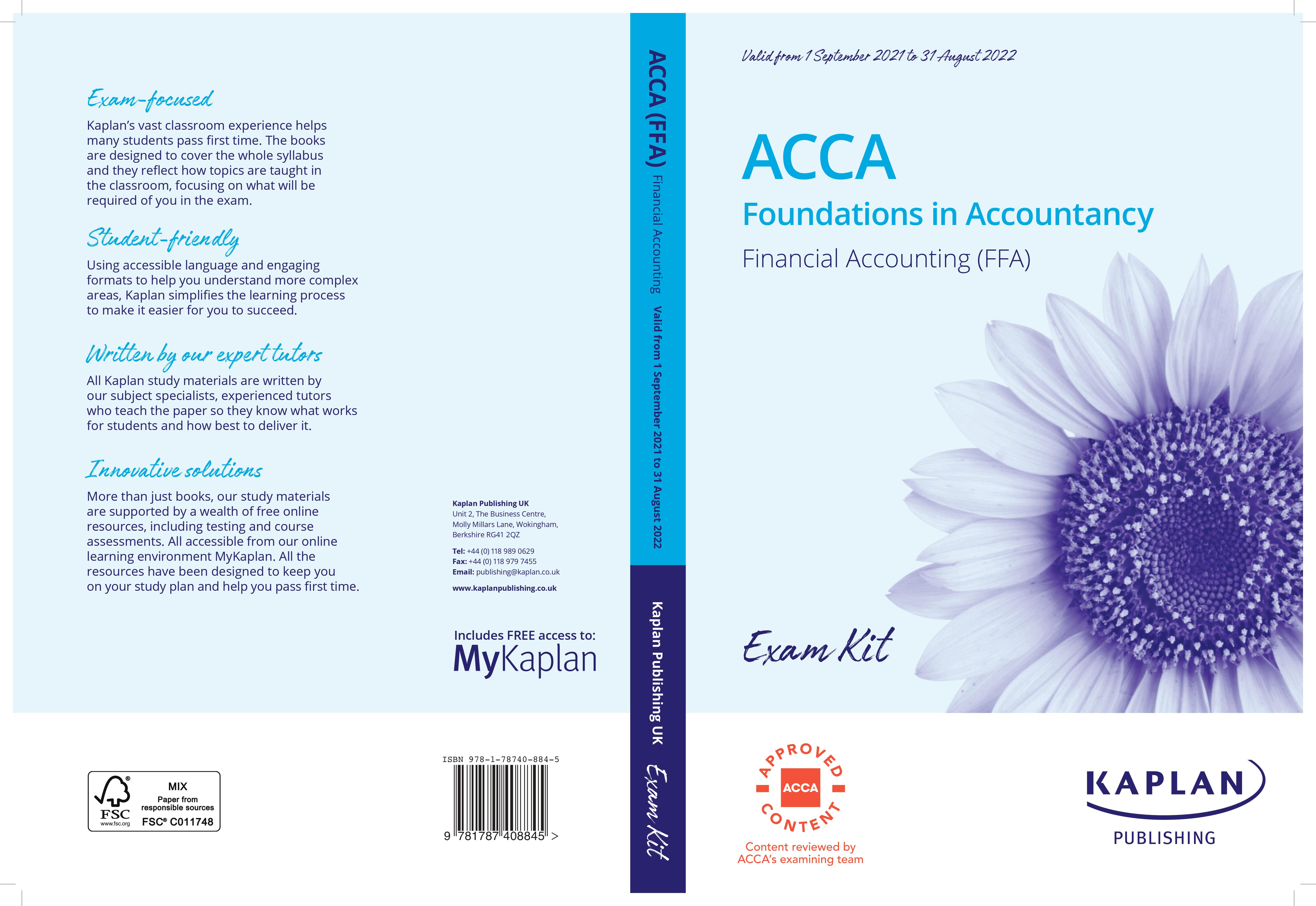 Foundations in Accountancy