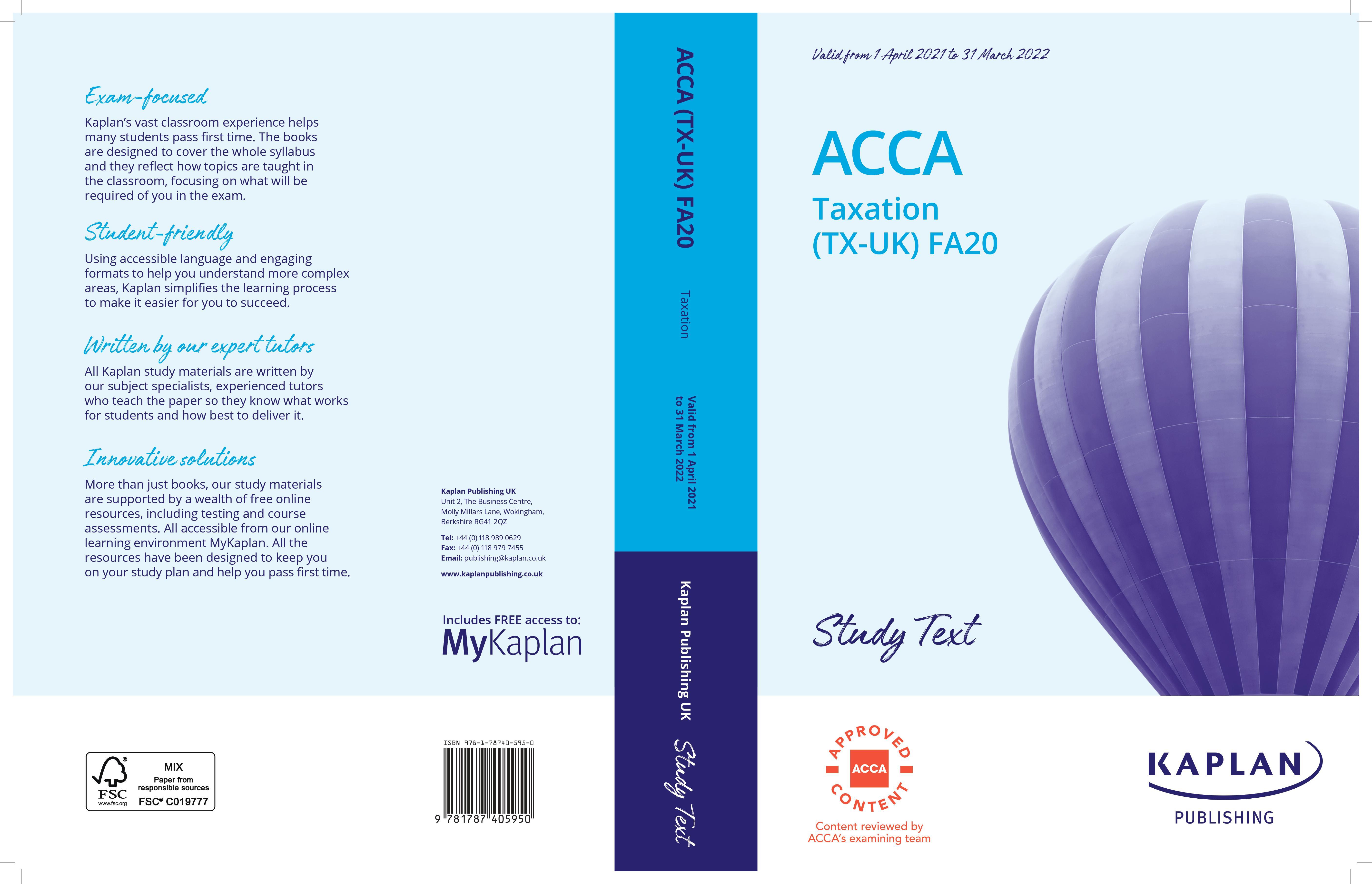 ACCA Taxation