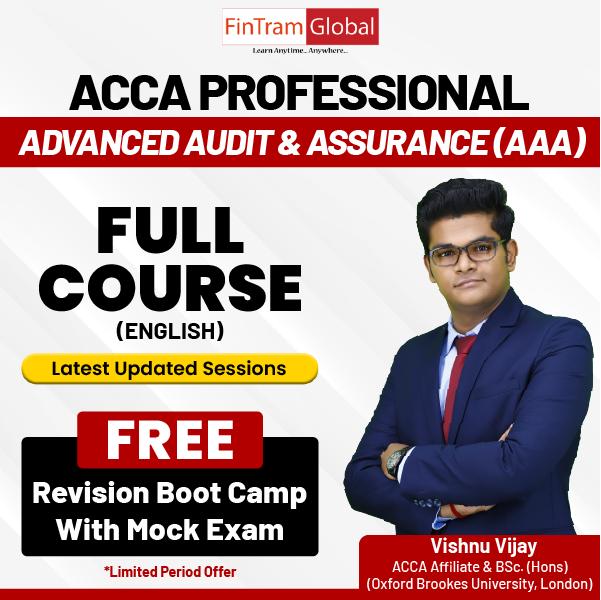 Advance Audit and Assurance